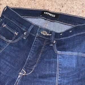 Express Jeans Ankle Legging Size 4